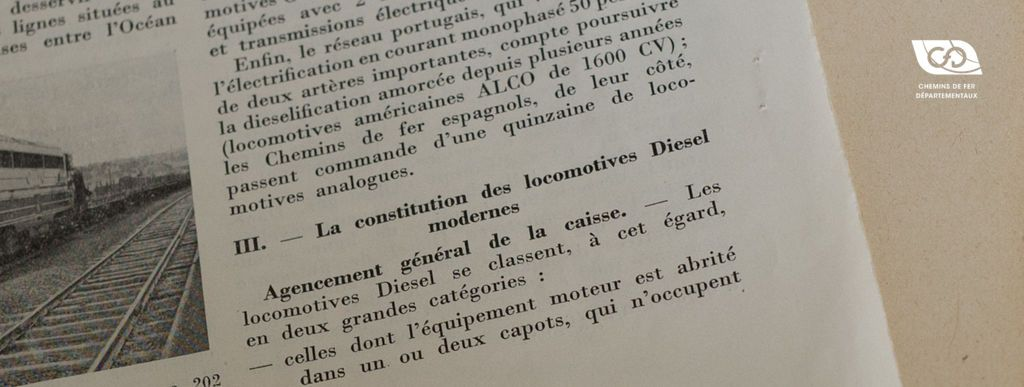 La constitution des locomotives Diesel modernes