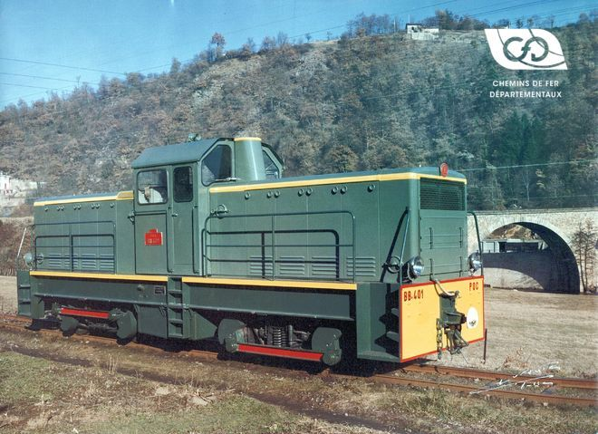 Locomotive BB 401 Corse