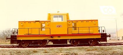 locomotive BB 433